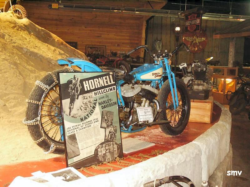 Oldmotodude 1928 Harley Davidson Peashooter Hill Climber: Maggie Valley, North Carolina