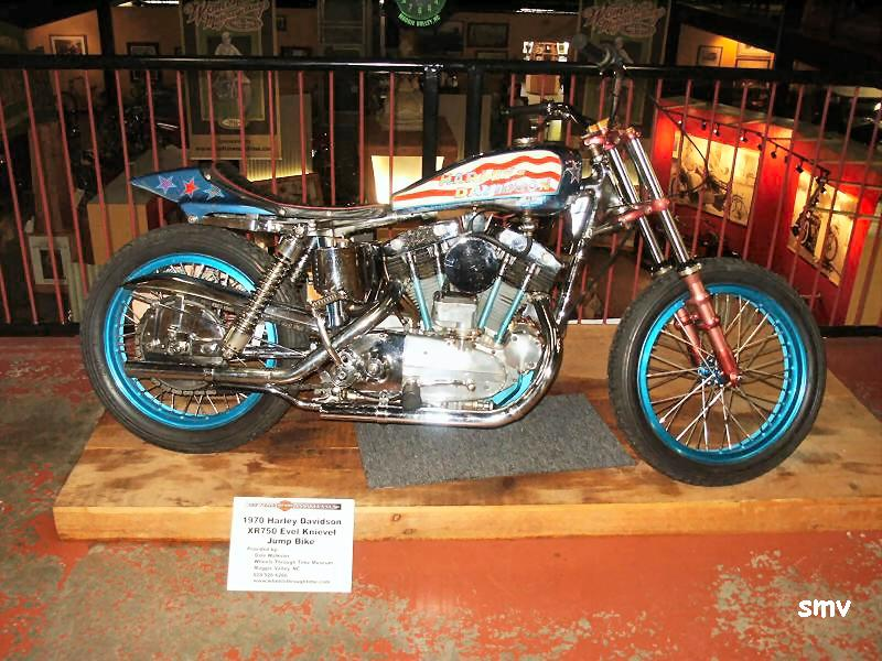 Evel Knievel 1970 Harley Davidson Xr750 Jump Bike By: Maggie Valley, North Carolina